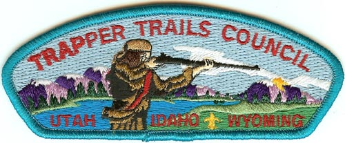 Trapper Trail Council Patch
